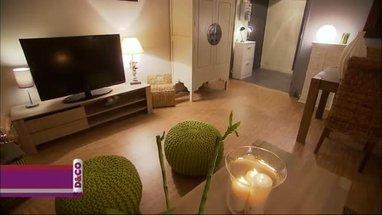 idée décoration salon zen bambou