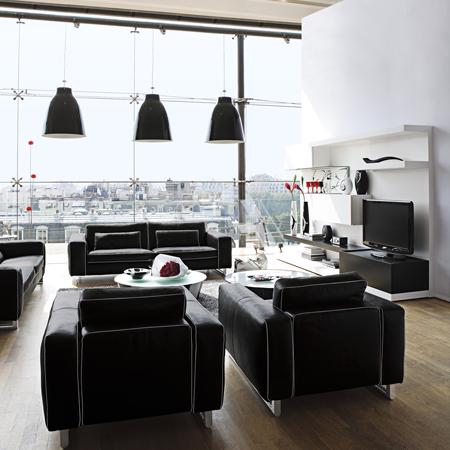d coration style loft. Black Bedroom Furniture Sets. Home Design Ideas