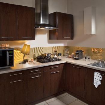 decoration cuisine aluminium. Black Bedroom Furniture Sets. Home Design Ideas