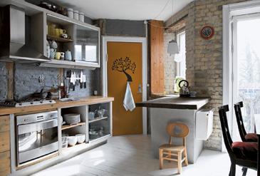 decoration cuisine japonaise. Black Bedroom Furniture Sets. Home Design Ideas
