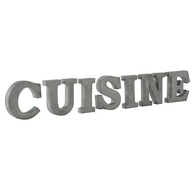 Decoration cuisine lettre - Lettre decorative cuisine ...
