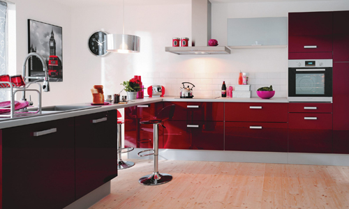 stunning suspension rouge pour cuisine images. Black Bedroom Furniture Sets. Home Design Ideas