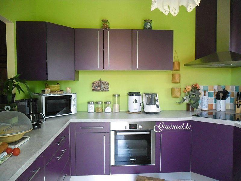 decoration cuisine vert pistache
