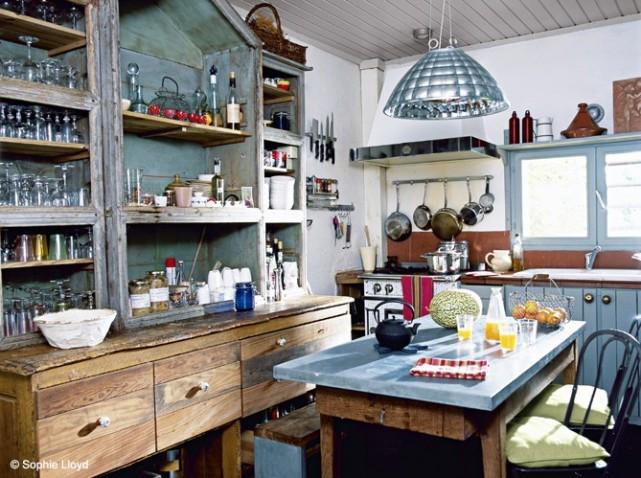 decoration cuisine zinc. Black Bedroom Furniture Sets. Home Design Ideas