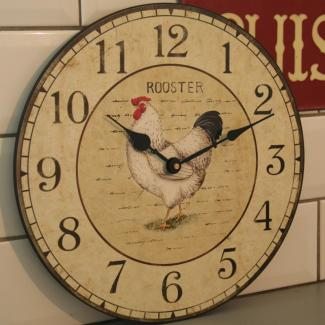 Horloge decoration cuisine for Deco de cuisine poule