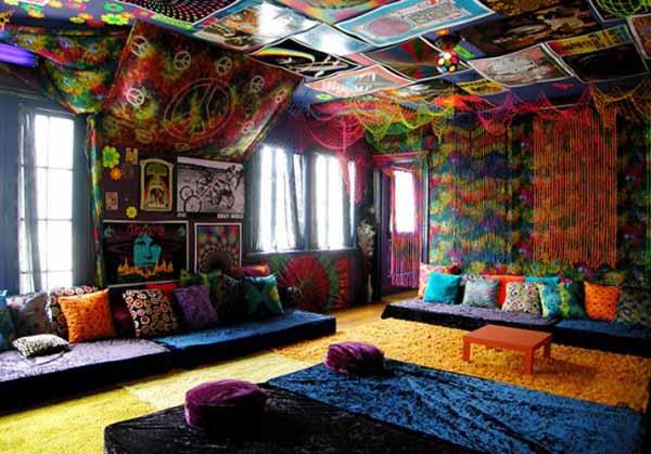 D co appartement hippie d co sphair for Deco appartement insolite