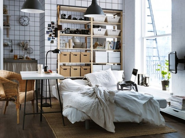 d co appartement ikea. Black Bedroom Furniture Sets. Home Design Ideas