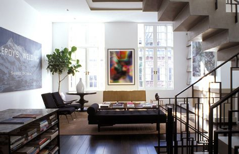 D co appartement new york - Salon new york deco ...