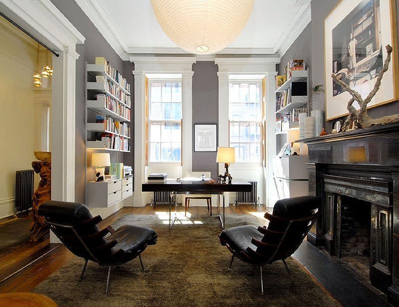 Дизайн интерьер кабинет