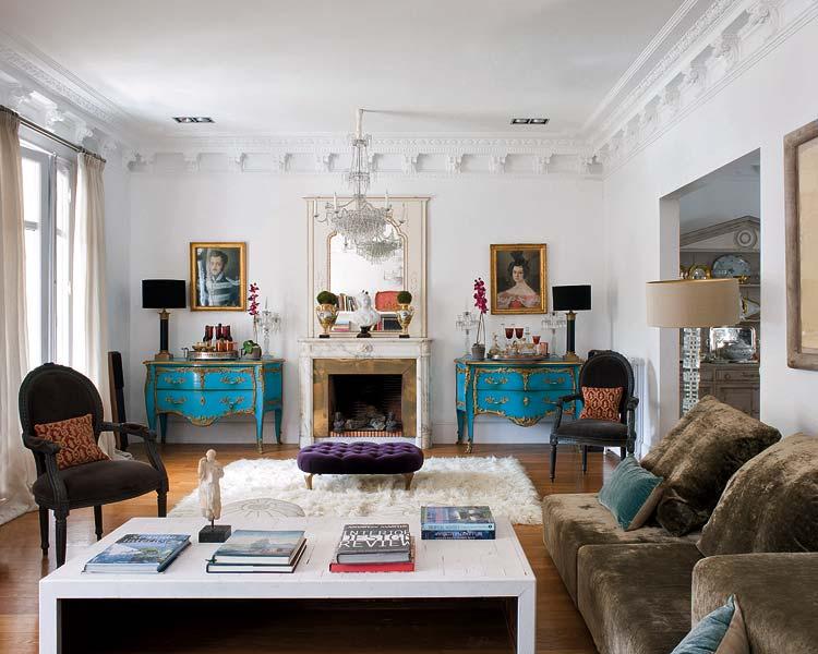 Jolie déco appartement parisien blog