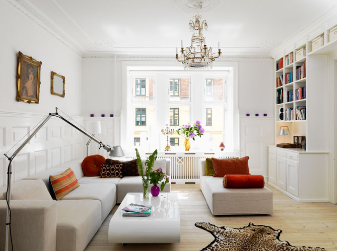 D co appartement tout blanc for Idee decoration appartement etudiant