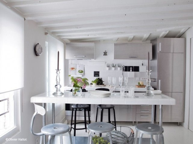D co appartement tout blanc - Univers de la cuisine ...