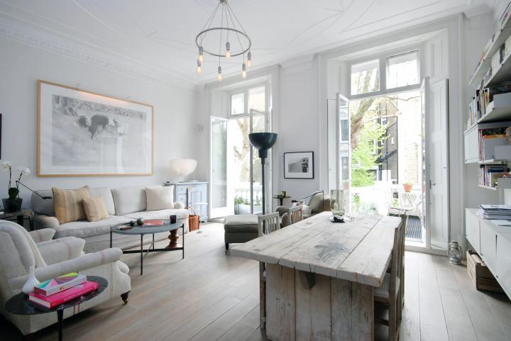 D co appartement tout blanc for Decoration appartement