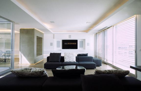modèle déco d\'appartement design