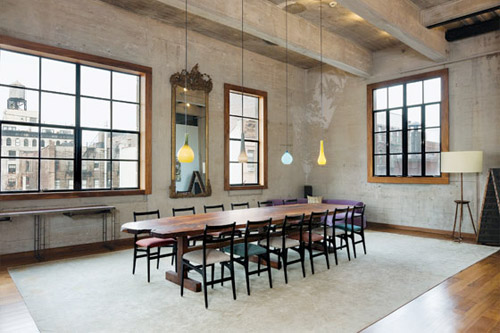 luxus loft interieur idee new york – modernise, Innenarchitektur ideen
