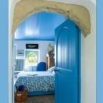 déco maison bleue