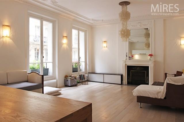 D co maison epuree - Decoration epuree salon ...