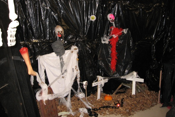 decoration maison hantee halloween