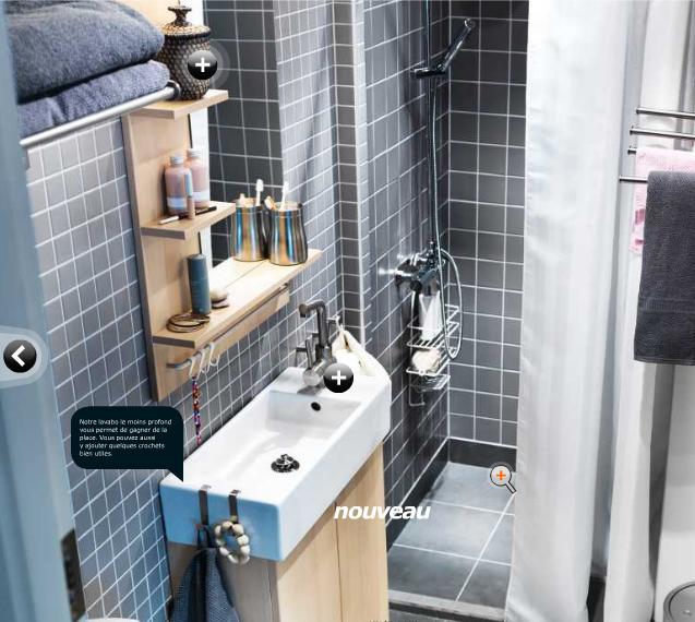 d co petite salle de bain ikea. Black Bedroom Furniture Sets. Home Design Ideas