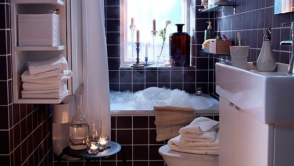 D co petite salle de bain ikea for Petite salle de bain ikea