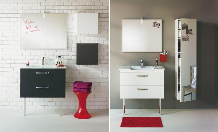 D co salle de bain alinea for Decoration de salle de bain idee