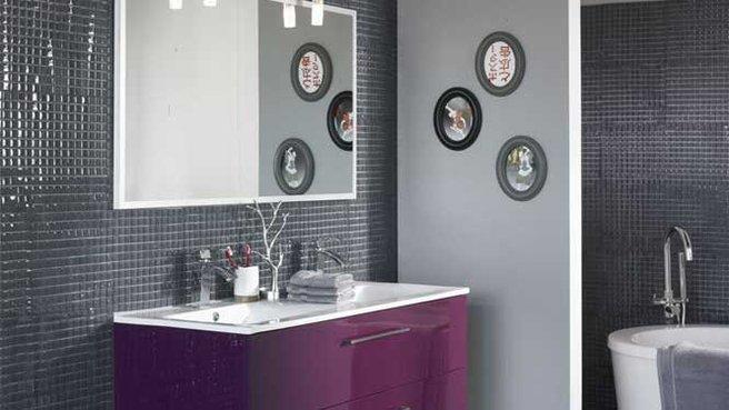 d co salle de bain alinea. Black Bedroom Furniture Sets. Home Design Ideas