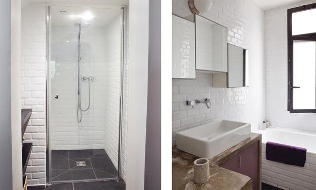 D co salle de bain appartement for Exemple de decoration de salle de bain