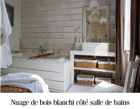 Awesome Salle De Bain Bois Flotte Images - Awesome Interior Home ...
