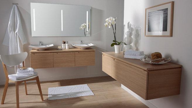 Photo déco salle de bain bois flotté - Photo Déco