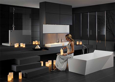 univers déco salle de bain design - Photo Déco