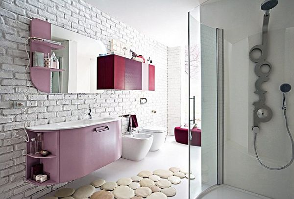 Awesome Salle De Bain Fushia Et Blanc Gallery - Amazing House ...