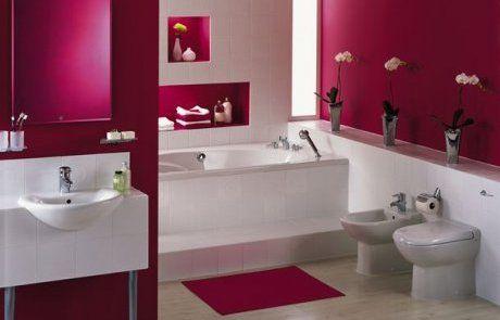 Photo déco salle de bain fushia - Photo Déco