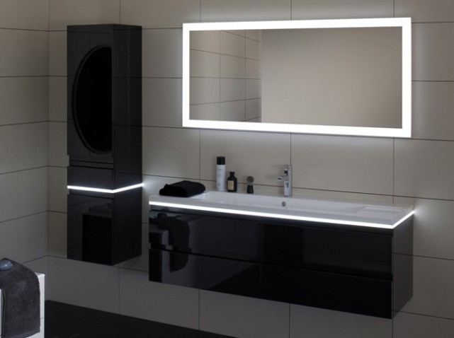 d co salle de bain led. Black Bedroom Furniture Sets. Home Design Ideas