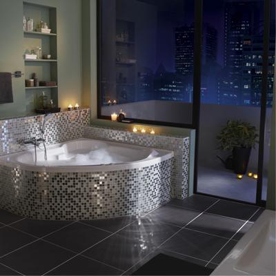 d co salle de bain mosaique. Black Bedroom Furniture Sets. Home Design Ideas