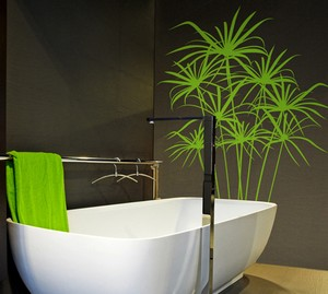 D co salle de bain stickers for Exemples deco salle bain
