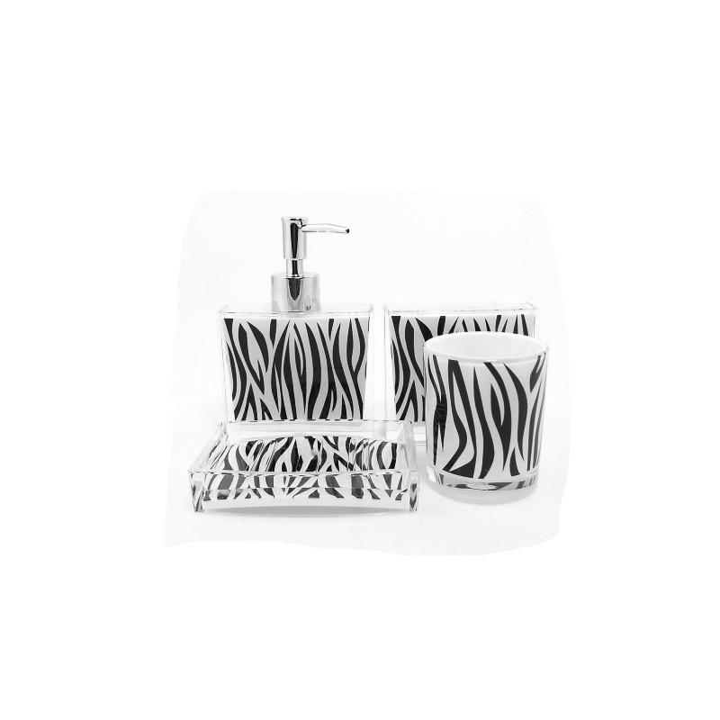 D co salle de bain zebre for Idee deco zebre