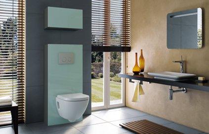 aménagement déco wc dans salle de bain