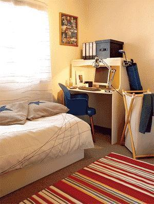 d coration appartement tudiant. Black Bedroom Furniture Sets. Home Design Ideas
