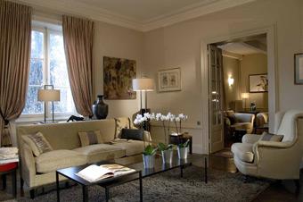 D coration appartement classique for Deco salon classique