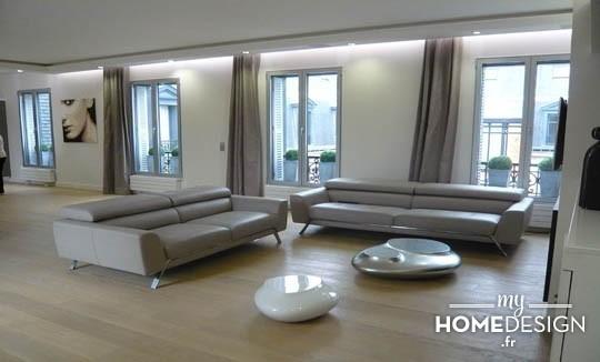 décoration appartement haussmannien moderne