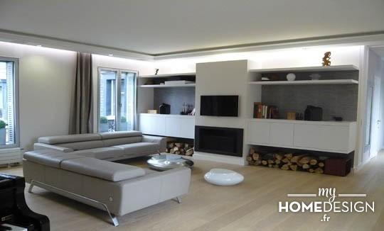 D coration appartement haussmannien moderne for Modele deco appartement