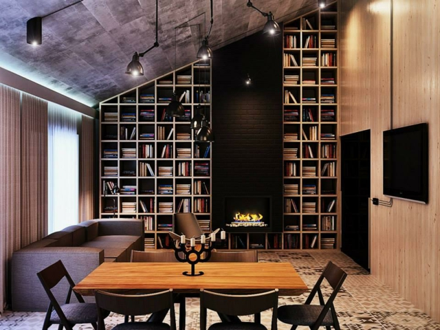 d coration appartement haut plafond. Black Bedroom Furniture Sets. Home Design Ideas