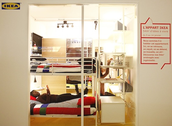 D coration appartement ikea for Modele deco appartement