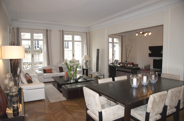 D coration appartement paris for Appartement meuble paris long sejour