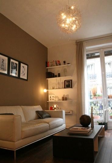 D coration appartement parisien petit - Salon de the parisien ...