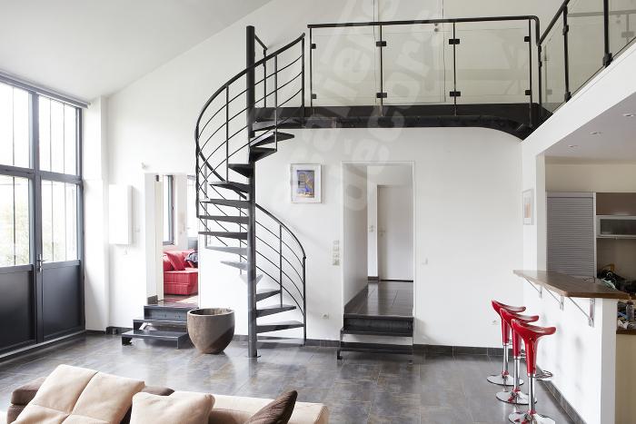 D coration appartement type loft for Loft et appartement