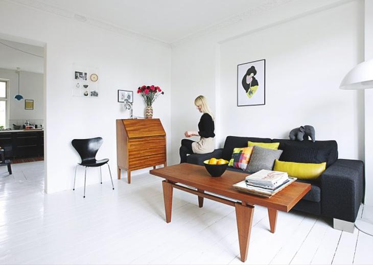 décoration appartement vintage