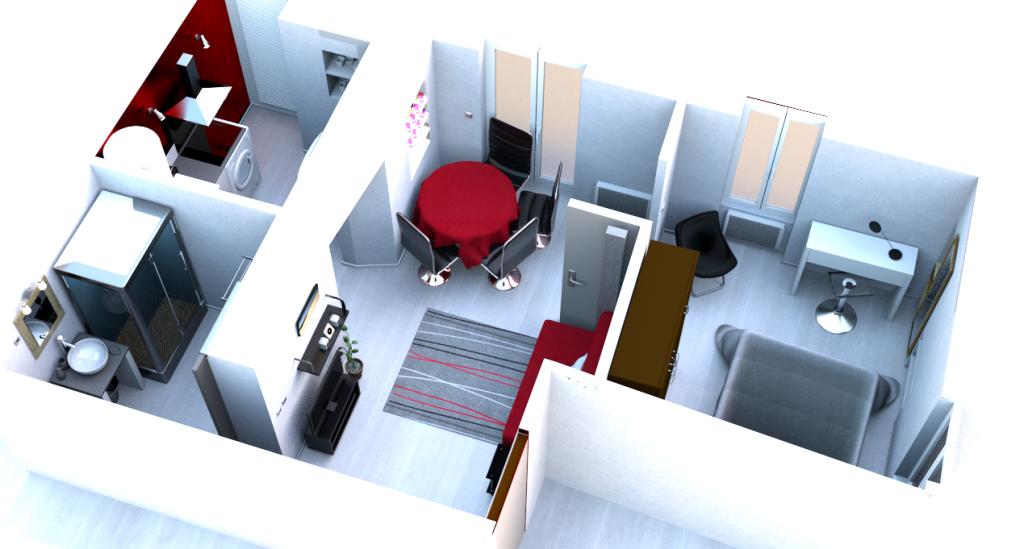 aménagement appartement virtuel