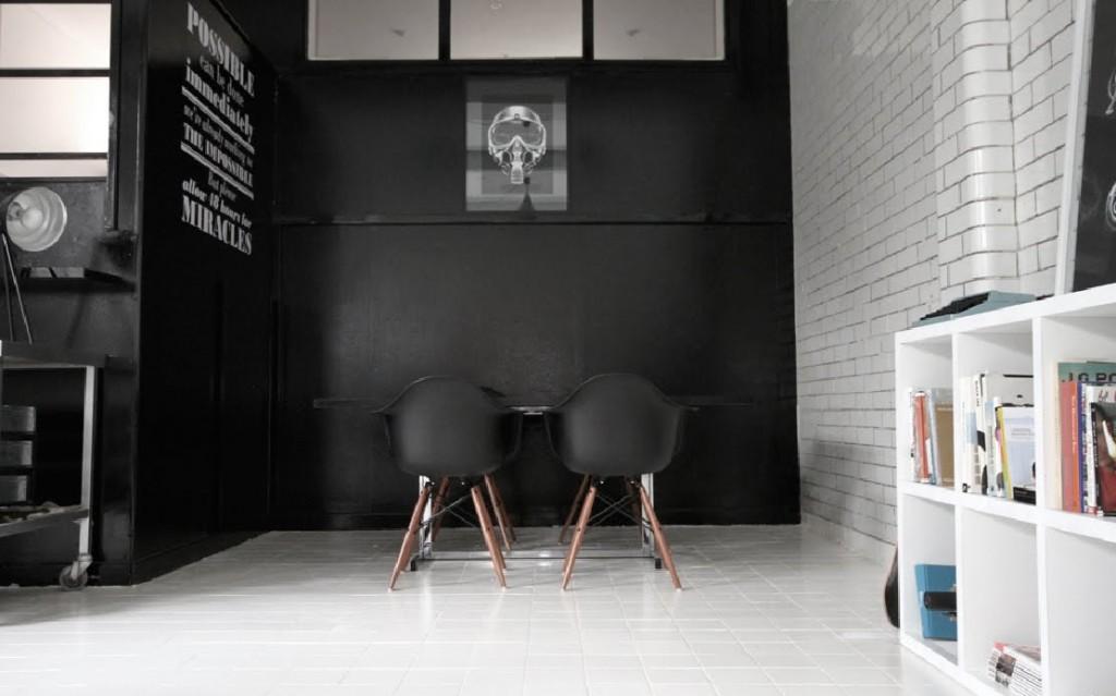 décoration bureau loft