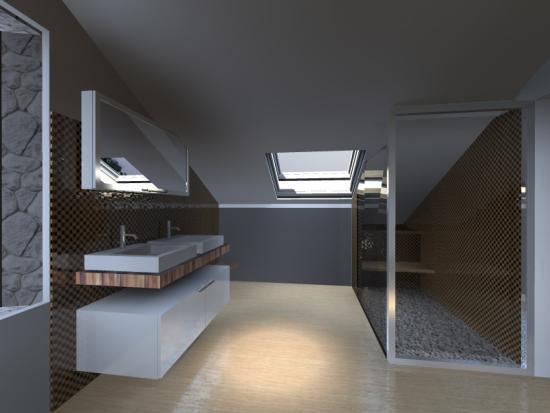 D coration d 39 int rieur salle de bain for Model de decoration interieur